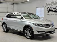 Clean CARFAX. Ingot Silver 2017 Lincoln MKX Reserve AWD
