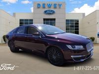 Red 2017 Lincoln MKZ Reserve