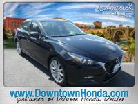 Jet Black 2017 Mazda Mazda3 Touring FWD 6-Speed