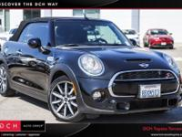 CARFAX One-Owner. Clean CARFAX. 2017 MINI Cooper S FWD