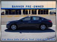 Blue 2017 Nissan Altima 2.5 S 4D Sedan FWD CVT with