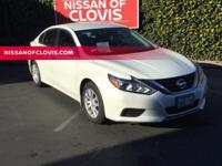 Recent Arrival!Pearl White 2017 Nissan Altima 2.5 S