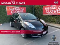 Recent Arrival!Super Black 2017 Nissan Leaf S 80kW AC