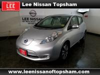 Only 6,812 Miles! This Nissan LEAF delivers a Electric