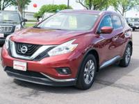 Here's a like new 2016 Murano that is going to save