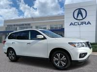 Used 2017 Nissan Pathfinder SL. Priced below KBB Fair