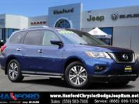 Recent Addition Caspian Blue 2017 Nissan Pathfinder SV