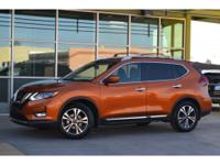 The 2017 Rogue is Nissan's mid-size SUV that's a little