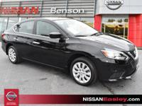 CARFAX One-Owner. Clean CARFAX. Super Black 2017 Nissan