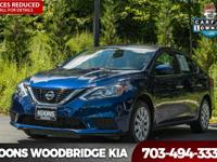 2017 Nissan Sentra S Blue **LOW LOW MILES**, **EASY TO