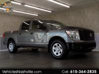 This is a very nice 2017 Nissan Titan S Crew Cab 2WD!!!