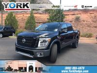Magnetic Black 2017 Nissan Titan PRO 4WD 7-Speed