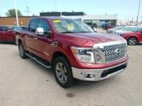 Recent Arrival! 2017 Nissan Titan SL 4WD.  12 Speakers