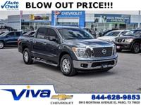 Gun Metallic 2017 Nissan Titan SV RWD 7-Speed Automatic