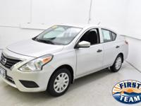 2017 Nissan Versa 1.6 S Plus Priced below KBB Fair