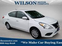 Fresh Powder 2017 Nissan Versa 1.6 SV FWD CVT with