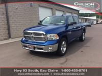 2017 Ram 1500 Big Horn Blue Streak Pearlcoat All Wheel