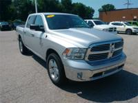 Recent Arrival! 2017 Ram 1500 Silver  3.21 Rear Axle