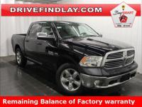 2017 Ram 1500 Big Horn 8.4 Screen Black Clearcoat