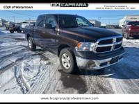 Clean CARFAX. Stout Brown 2017 Ram 1500 Express 4WD