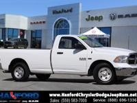 White 2017 Ram 1500 Tradesman RWD 8-Speed Automatic