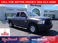 CERTIFIED BY CARFAX - ONE OWNER, 1500 Tradesman, 4D