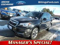 Crystal Black Silica 2017 Subaru Forester 2.5i Limited