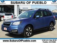 New Price! Quartz Blue 2017 Subaru Forester 2.5i