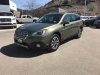 New Lower Price! Green Metallic 2017 Subaru Outback