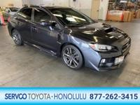 Looking for a clean, well-cared for 2017 Subaru WRX?