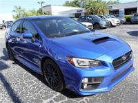 CARFAX One-Owner. Clean CARFAX. This 2017 Subaru WRX