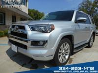 2017 Toyota 4Runner Limited! Loaded with Navigation,
