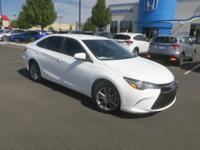 CARFAX One-Owner. Clean CARFAX. 2017 Toyota Camry White