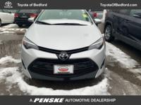 2017 Toyota Corolla LE SERVICE RECORD AVAILABLE, GOOD