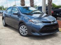 This 2017 Toyota Corolla L in Falcon Gray Metallic
