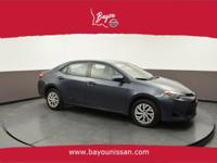 2017 TOYOTA COROLLA LE, Aluminum Alloy Wheels, Backup