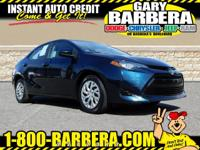 Our One Owner 2017 Toyota Corolla LE Sedan brought to
