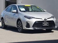 2017 Toyota Corolla SE Silver CARFAX One-Owner. Corolla