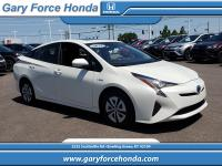 CARFAX One-Owner. Clean CARFAX. White 2017 Toyota Prius
