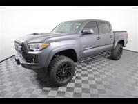 Clean CARFAX. Magnetic Gray Metallic 2017 Toyota Tacoma