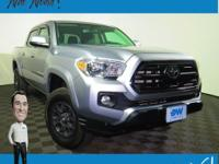 CARFAX One-Owner. Tacoma SR5, 4D Double Cab, V6,