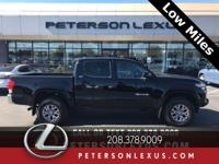 Black 2017 Toyota Tacoma SR5 4WD Here at Peterson Lexus
