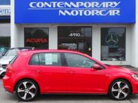 2017 Volkswagen Golf GTI S Tornado Red Odometer is