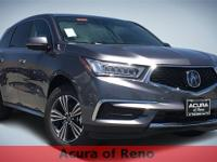 2018 Acura MDX 3.5L modern steel metallic Odometer is