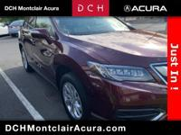 NavigationAcura QUALITY, Acura CERTIFIED ONE OWNER,