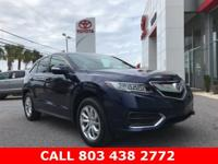 Fathom Blue Pearl 2018 Acura RDX Technology Package FWD