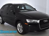 CARFAX One-Owner. Clean CARFAX. This 2018 Audi Q3 2.0T