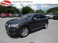2018 Gray Audi Q5 7-Speed Automatic S tronic One Owner