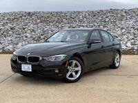 Clean CARFAX. 2018 BMW 3 Series 320i in Black, Hot