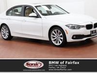 Scores 34 Highway MPG and 23 City MPG! This BMW 3